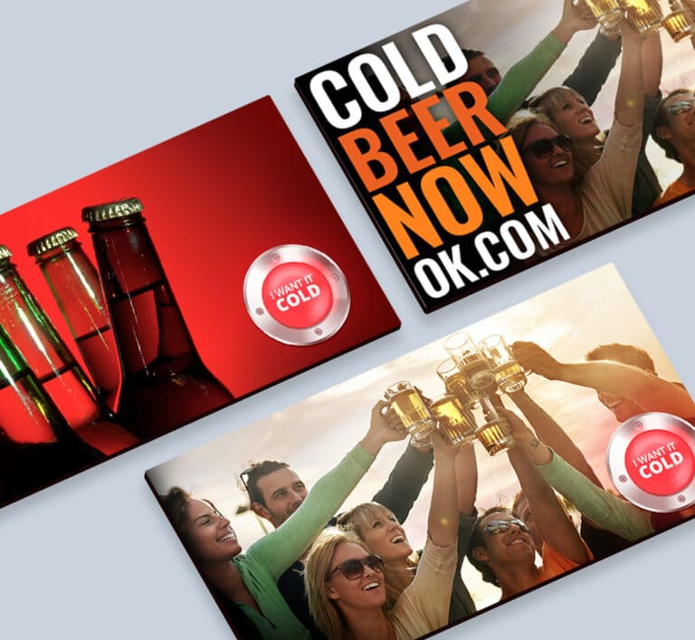 Cold Beer Now Ads