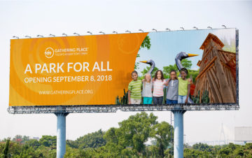 Gathering Place Billboard