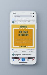 Oklahomans for Criminal Justice Reform Social Media